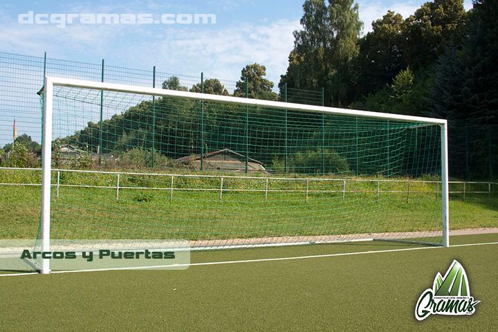 Arcos para cancha de fútbol profesional