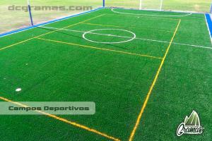 Campos de fútbol en gramilla sintética