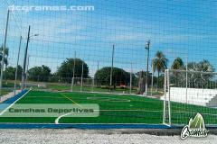 Campos deportivos y diseño de espacios