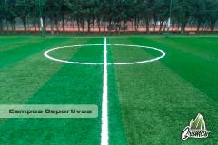 Canchas de fútbol en grama sintética