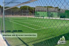 Encerramiento de canchas de fútbol