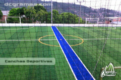 Mallas para encerramiento de campos deportivos